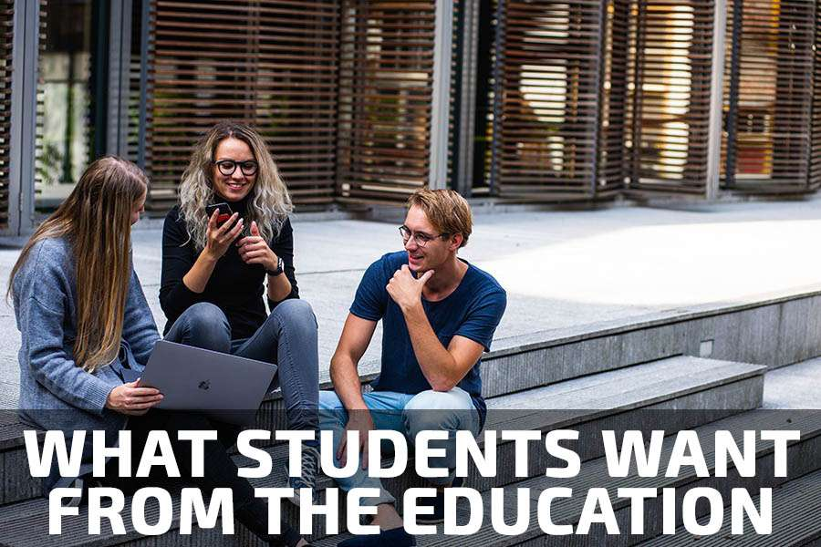 StudyQA: What students want from the university and education