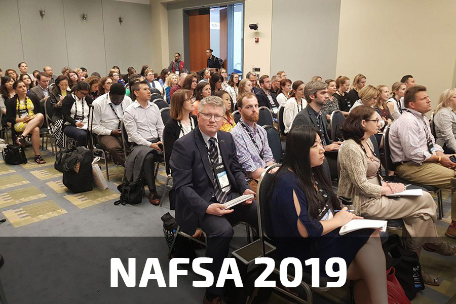 StudyQA team at NAFSA 2019